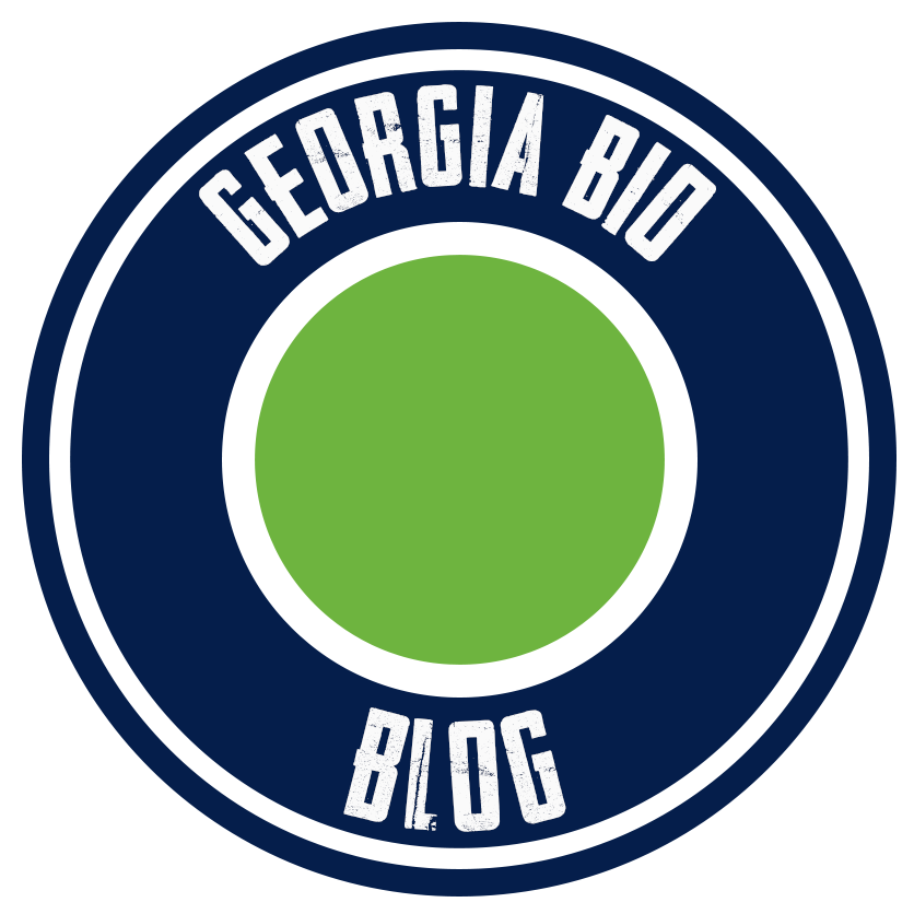 Georgia Bio Blog Blue logo