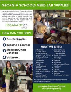 Equipment Depot Flyer