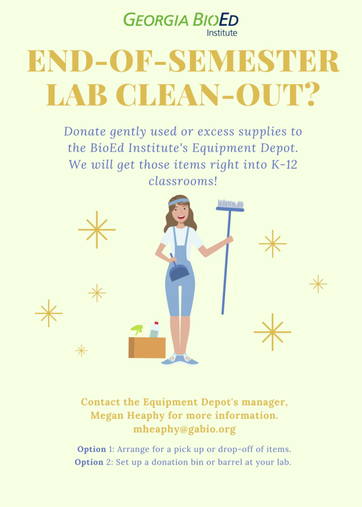 Depot Spring Cleaning